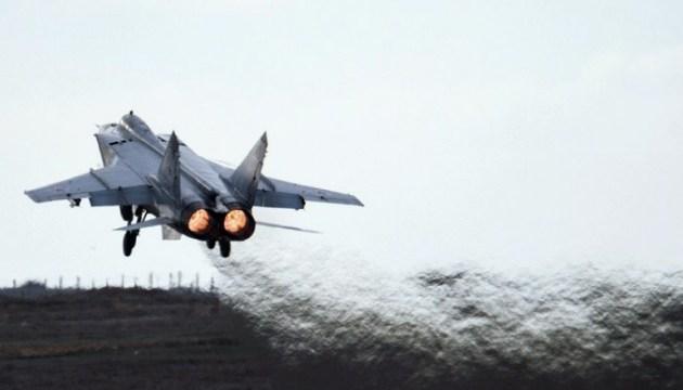 Російські ЗМІ: розбився черговий винищувач МіГ-31