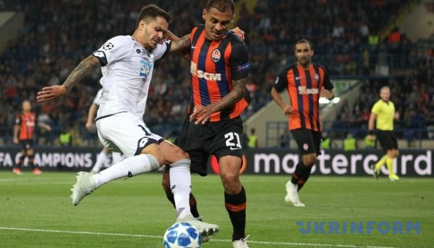 Shakhtar begins Champions League campaign with draw against Hoffenheim