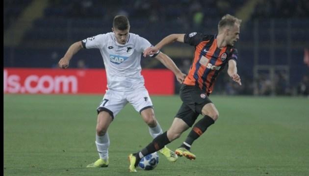 El Shakhtar comienza la campaña de la Liga de Campeones con un empate ante el Hoffenheim (Foto)
