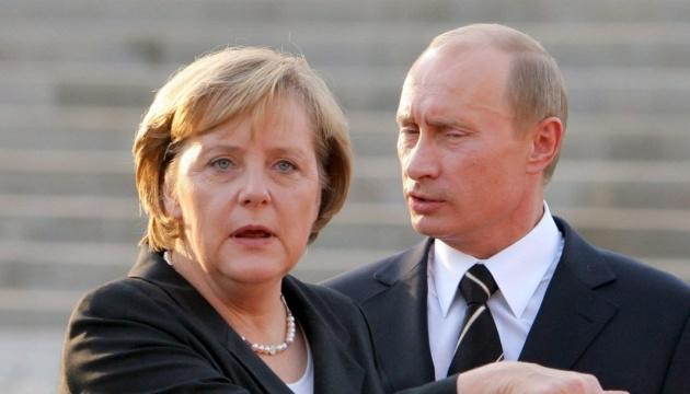 Merkel und Putin sprechen über Ostukraine und Syrien