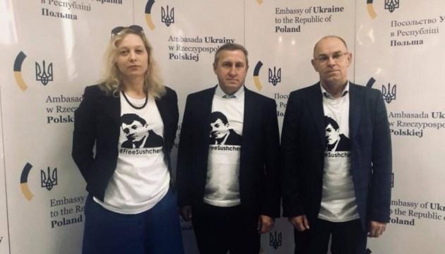 Ukrinform director general, Ukraine's ambassador to Poland discuss Ukrainian content in Polish media space