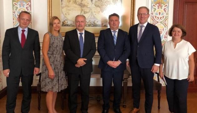 Эстонская делегация посетила Донбасс