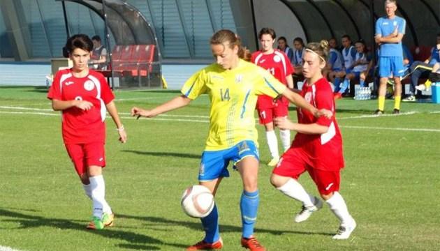 Футбол: дівоча збірна України (WU-17) перемогла Грузію в товариському матчі