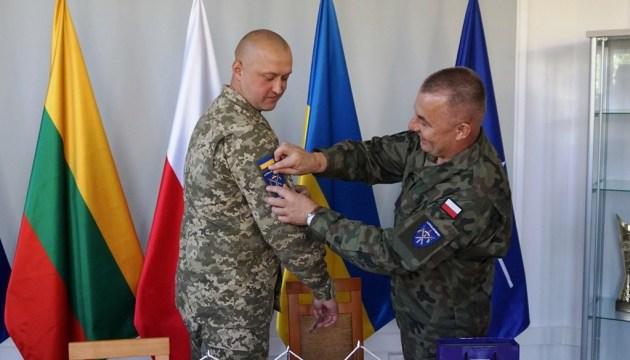 LITPOLUKRBRIG: Ukrainischer Oberst Bratischko übernimmt Kommando - Fotos