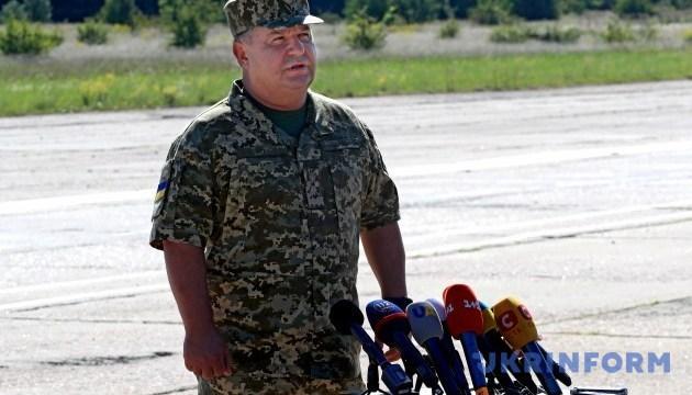 Verteidigungsminister Poltorak: 69.500 Tonnen Munition lagen in Munitionslager nahe Itschnja