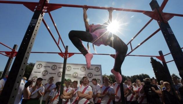 У День студентського спорту в Харкові влаштували змагання і флешмоб
