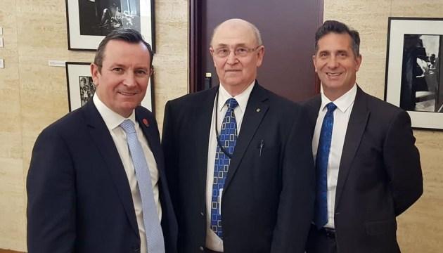 Парламент Західної Австралії відзначив українців за внесок у розбудову штату