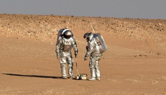 В пустыне испытали детектор для поиска воды на Марсе