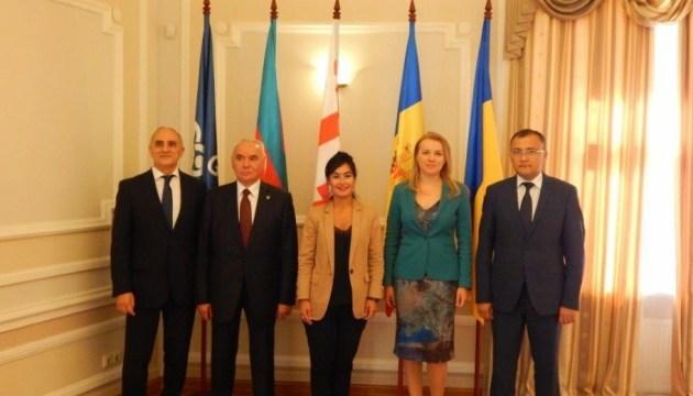 Країни-члени ГУАМ погодили спільну заяву, яку підпишуть у жовтні