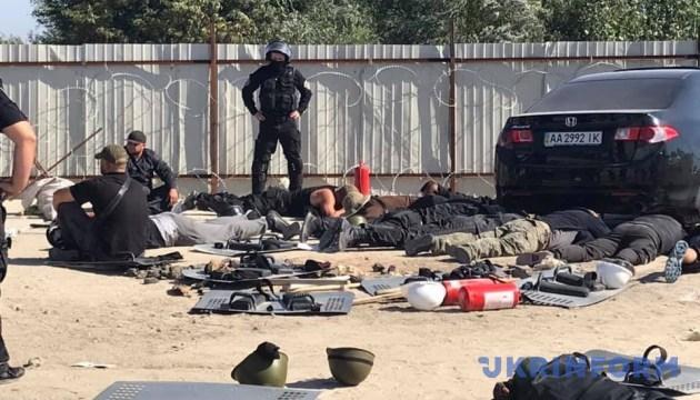 Полиция задержала 50 участников конфликта на киевских Осокорках