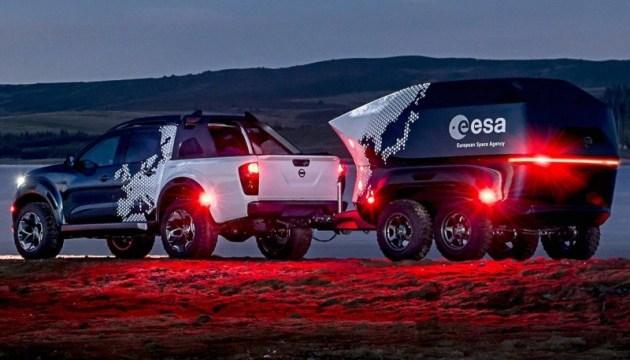 Nissan создала мобильную обсерваторию на базе своего пикапа
