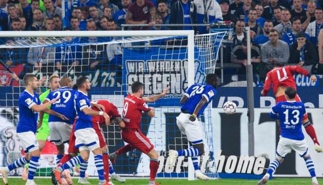 Бундесліга: «Шальке» без Коноплянки програв «Баварії»