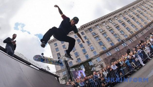 Скейтбордисти із США та байкер-шоу: у Києві стартувало Свято подяки