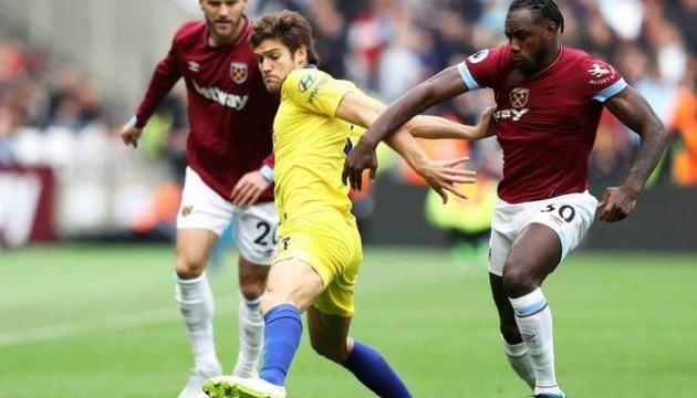 АПЛ: «Вест Гем» Ярмоленка відібрав перші очки в сезоні у «Челсі»