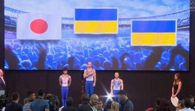 Спортивная гимнастика: Пахнюк победил на этапе Кубка мира, Верняев взял еще две «бронзы»