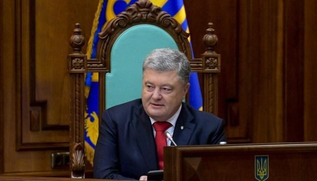 Poroschenko begrüßt Verlegung der Militärschiffe ins Asowsche Meer