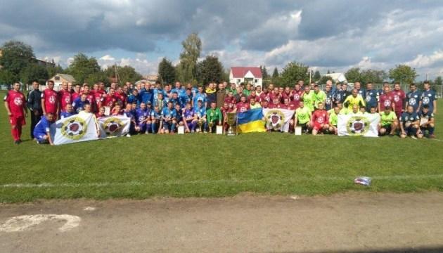 Завершились соревнования в трех дивизионах футбольной Лиги участников АТО