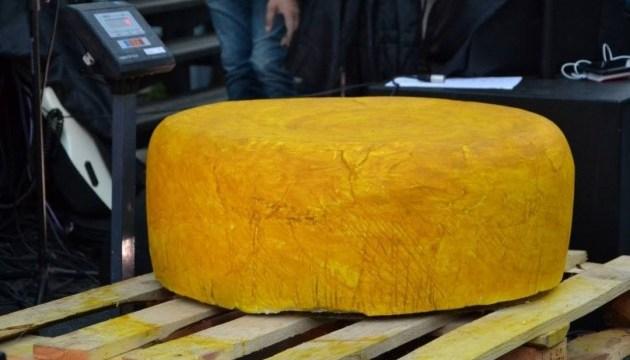Найбільший сир України виготовили в Чернівцях