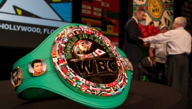 Кличко показал анонс конгресса Всемирного боксерского совета в Киеве
