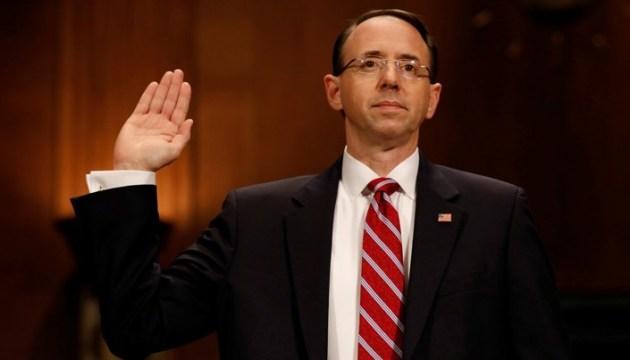Заместитель генпрокурора США, ведущий