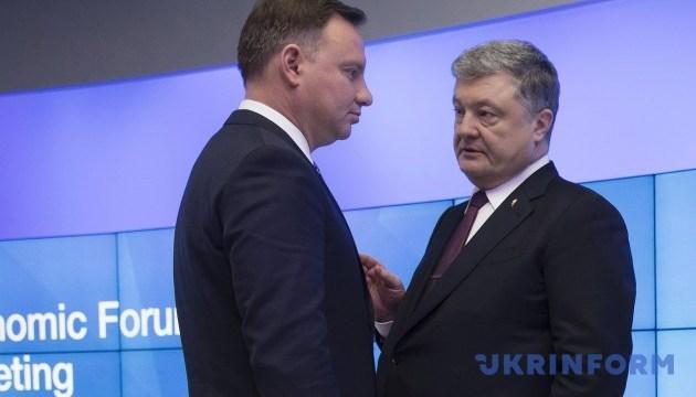 Poroschenko und Duda treffen sich in New York