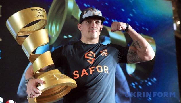 Usyk nach Kiew zum WBC-Kongress gekommen