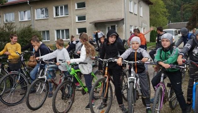Неделя мобильности на Прикарпатье завершилась велопробегом