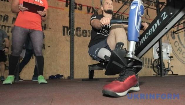 В Харькове состоялась открытая спортивная тренировка травмированных участников АТО