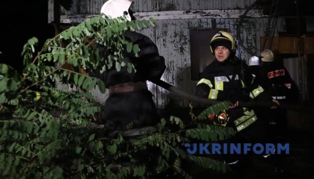 Ночной пожар в одесском санатории тушили пять часов