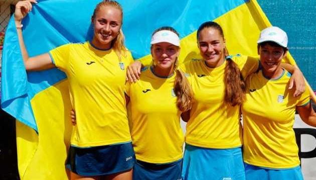 Junior Fed Cup: украинские теннисистки победили россиянок и сыграют в финале