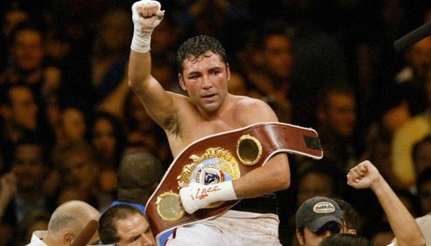 Legendärer Boxer Oscar De La Hoya kommt nach Kiew zum WBC-Kongress