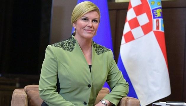 Президент Хорватії підтримала розширення Євросоюзу