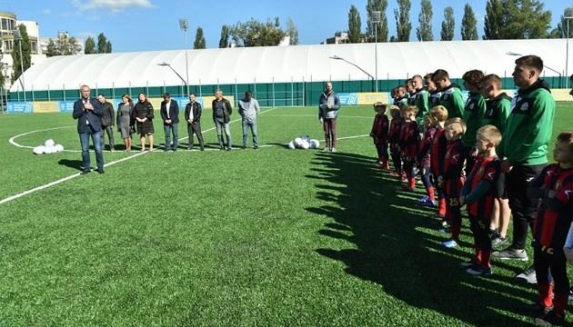 В Киеве торжественно открыли новый спортивный комплекс