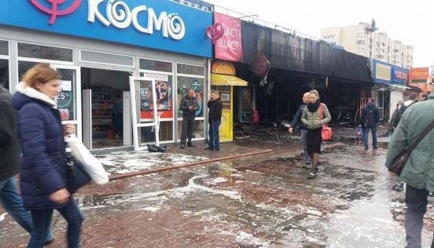 В столице горел Минский рынок
