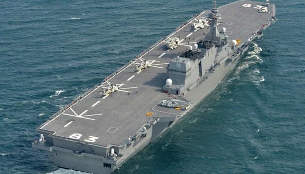 Японія і Британія почали військові навчання, кораблі йдуть у Південно-Китайське море