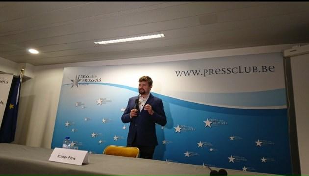 В Брюсселе прошла премьера фильма эстонского журналиста об агрессии РФ