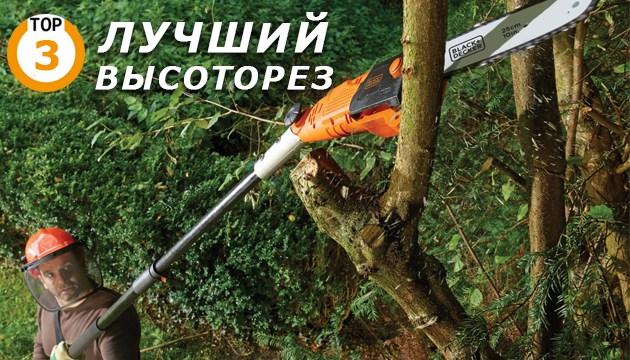 Лучшие высоторезы для обрезки деревьев