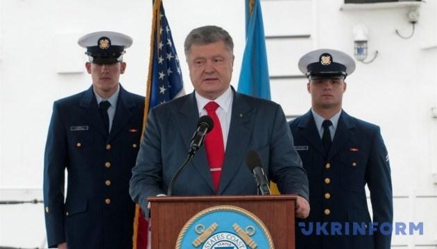 Россия не оставила намерений получить наземный коридор в Крым — Порошенко