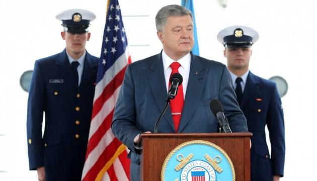 Poroschenko: Sanktionen wirken und sie müssen verschärft werden