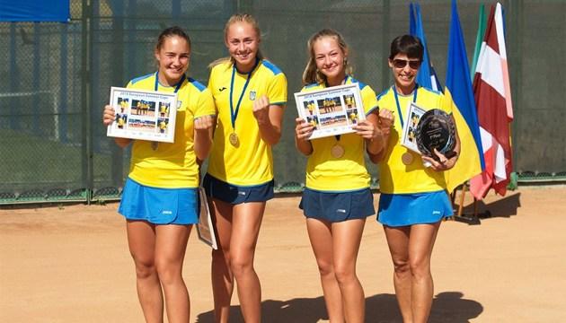 Junior Fed Cup: девичья сборная Украины вышла в полуфинал турнира в Будапеште