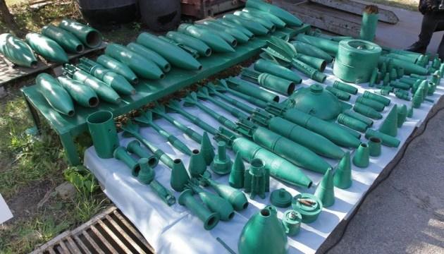 В Украине уничтожили двухмиллионную запрещенную противопехотную мину