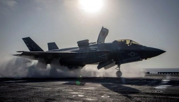 В США впервые разбился сверхсовременный истребитель F-35B