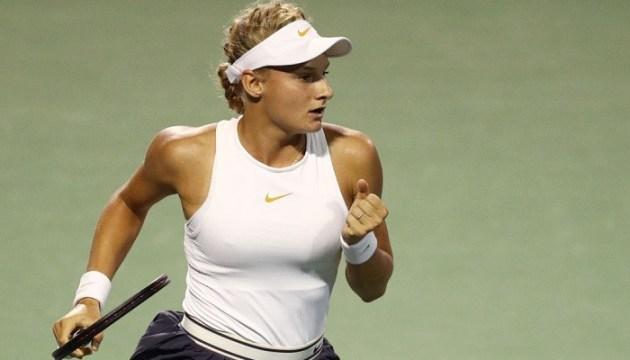Теннис: Ястремская сенсационно пробилась в основную сетку турнира в Пекине