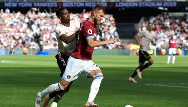 АПЛ: Ярмоленко помог «Вест Хэму» обыграть «Манчестер Юнайтед»