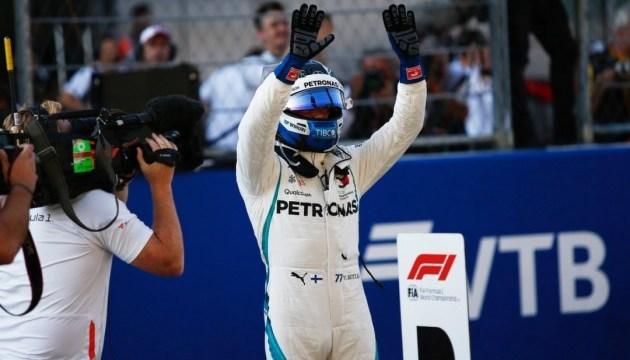 Формула-1: Боттас выиграл квалификацию Гран-при России