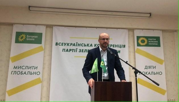 Зеленые выдвинули Сергея Рудыка кандидатом в Президенты