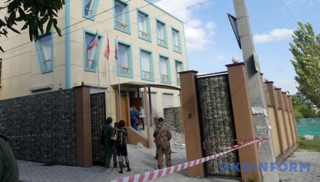 На съезде Компартии в Донецке прогремел взрыв, есть пострадавшие