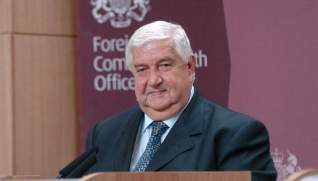 Сирия просит снять санкции с себя, КНДР, Кубы и Беларуси