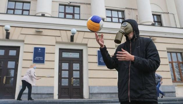 Я хочу дышать: в Запорожье и Мариуполе требовали чистого воздуха