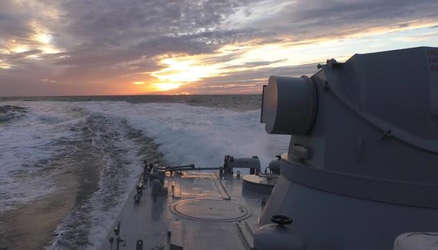 Козацька воля-2018: ВМС провели учения в Черном и Азовском морях